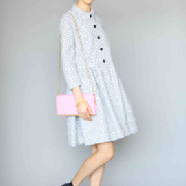 KAREN WALKER - fawn dress coat