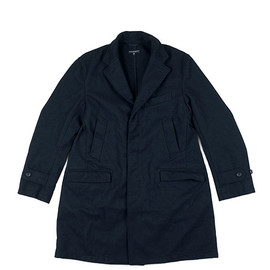 ENGINEERED GARMENTS - LOFTMAN別注 Unlined Chesterfield Coat-Navy