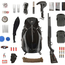 Ultralite backpacker asym