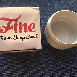 Fine - Shave Soap Bowl   White