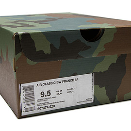 Nike - AIR CLASSIC BW FRANCE SP 「COUNTRY CAMO PACK」BOX
