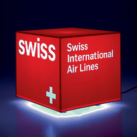 swiss international airlines - SWISS Illuminated Cube