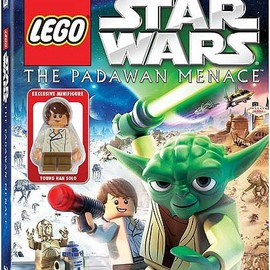 David Scott - LEGO Star Wars: The Padawan Menace Blu-ray & Standard DVD Combo Pack with Young Han Solo Minifigure