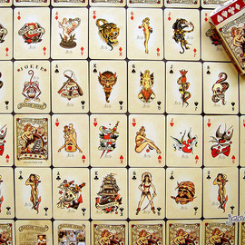 Sailor Jerry - Tattoo playing cards