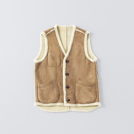 Cinquanta - Mouton Leather Vest