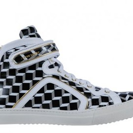 Pierre Hardy - High Top Cube Sneakers