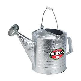 BEHERENS - 2 Gallon Hot Dipped Steel Watering Can