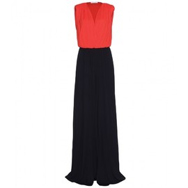 Vionnet - SOFTLY PLEATED TWO TONE GOWN