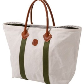 ENDS and MEANS - Leather Handle Totebag