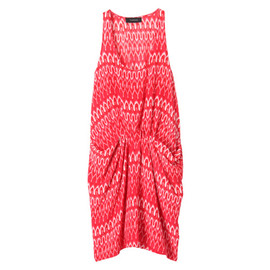 THAKOON - GATHERED FRONT TANK DRESS