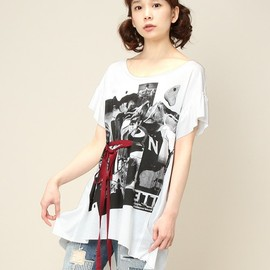 "Balcony and Bed - ""L' Etranger""PHOTO PRINT JERSEY PL(Tシャツ・カットソー)