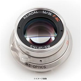 MS-Optics - MapCamera × MS-Optics REIROAL M35mm F1.4 MC プラチナクローム メイン