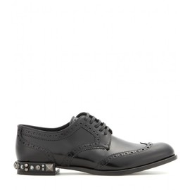 DOLCE&GABBANA - Boy embellished leather brogues