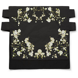 GIVENCHY by Riccardo Tisci - Slim-Fit Floral-Print Skirt