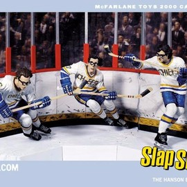 McFarlane Toys - Hanson Brothers from the film Slap Shot