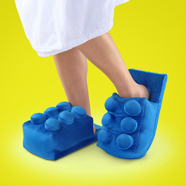 ThinkGeek - Building Brick Slippers