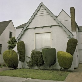Green Home - quirky and interesting topiary work
