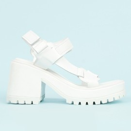 OPENING CEREMONY - MARQUES'ALMEIDA CHUNKY HEEL SANDALS