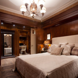 apartment in Moscow traditional bedroom