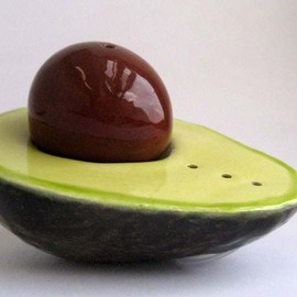 Daina Platais - Avocado Salt and Pepper Shaker