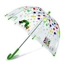 the world of Eric Carle - umbrella
