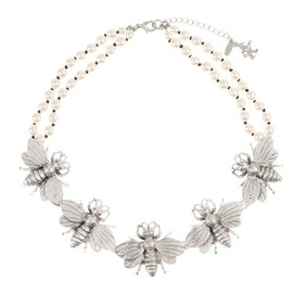 Paul Smith - SS2014 Insects Pearl Necklace