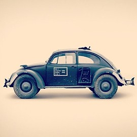 Volks Wagen - VW Beetle MUD BUG