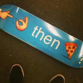 Pizza Skateboards - Emoji Deck 8.25