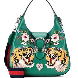 GUCCI - Dionysus embellished leather hobo bag