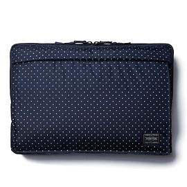 "HEAD PORTER - ""DOT"" LAPTOP CASE 13inch NAVY"