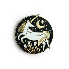 Papio Press - Unicorn Enamel Pin