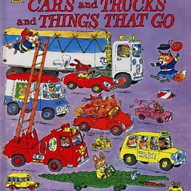 Richard Scarry - Cars and Trucks and Things That Go (Original Print, 1974)