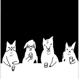 1 - Pin by satof on illustration | Pinterest | Illustrations, Art illustrations and Cat