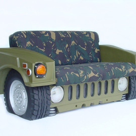 Army Jeep Sofa