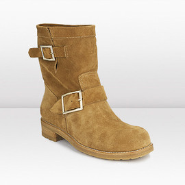 JIMMY CHOO - YOUTH biker boot