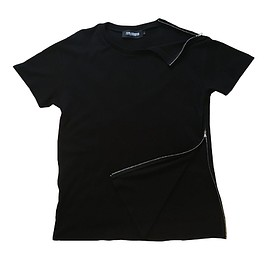 The London Leatherman - Jersey T-Shirt with Side Zip