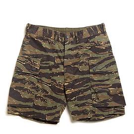 RRL - Camo Cotton Cargo Short-Tiger Stripe Camo