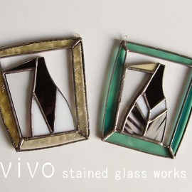 vivo stained glass works - 壁掛け用パネル