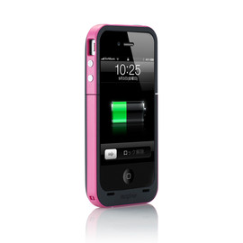mophie  - Juice Pack Plus for iPhone 4 マゼンタ