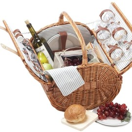 Picnic Plus - Westport 4 person picnic basket