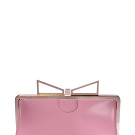 SARA BATTAGLIA - Lady Me Pochette In Pink Flamingo