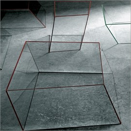 Piero Lissoni - glass coffee table