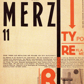 Kurt Switters  - Merz Magazine No.11, Designed by El Lissitzky