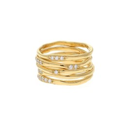WOUTERS & HENDRIX - RING 18K YG DIAMOND