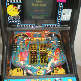 BABY PAC-MAN !! Video Pinball