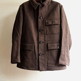 "1940s cotton pique hunting jacket ""dead stock"""