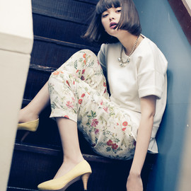 PAGEBOY - 2014 S/S  model:玉城ティナ