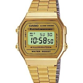 CASIO - GOLD DIGITAL A168