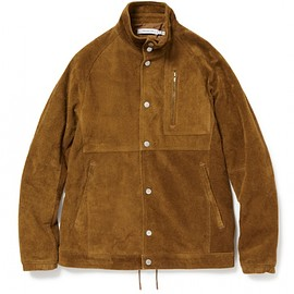 nonnative - COACH JACKET COW SUEDE