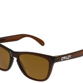 OAKLEY - Frogskins - Polished Rootbeer w/ Bronze Polarized Lens
